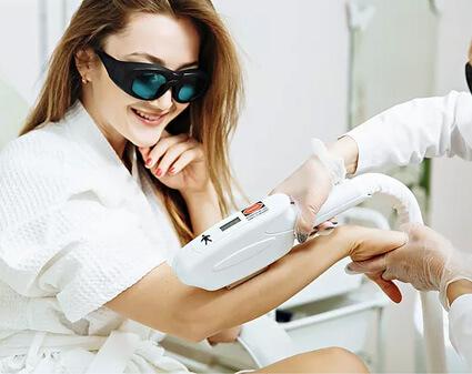 Depilación IPL SHR y rejuvenecimiento de la piel