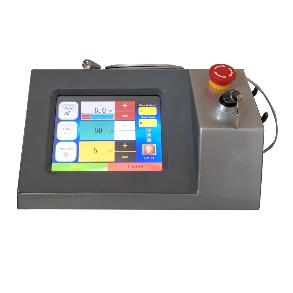 Máquina portátil de eliminación de venas vasculares de 980 nm