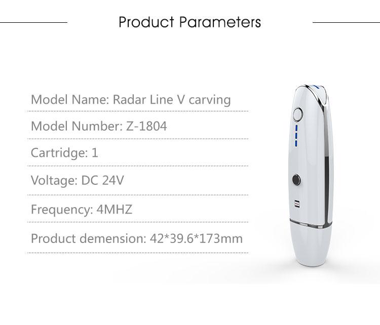 mini radar V curing